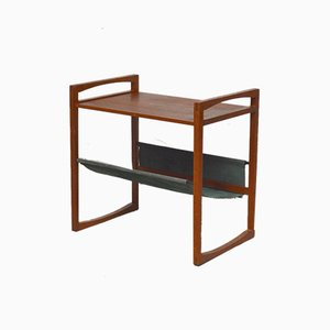 Danish Teak Magazine Rack by Kai Kristiansen, 1960s