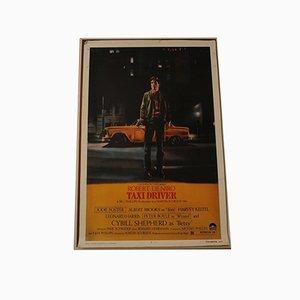 Litografia di Taxi Driver Movie di Paul Schrader, anni '70