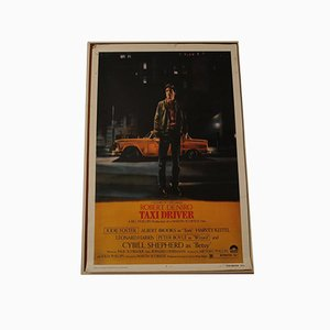 Taxi Driver Movie Lithograph by Paul Schrader, 1970s