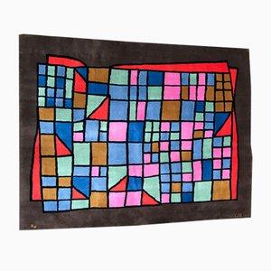 Vintage Teppich von Paul Klee für Nazmiyal, 1970er