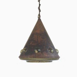 Lampe à Suspension Brutaliste Mid-Century par Nanny Still Mckinney pour Raak, Pays-Bas, 1960s