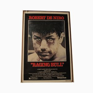 Raging Bull Movie Lithograph, 1980s