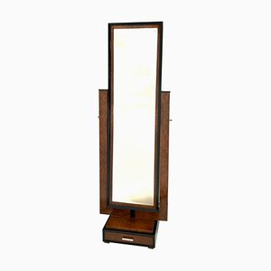 Art Deco French Standing Mirror, 1930s