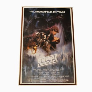 Star Wars The Empire Strikes Back Movie Poster, 1995