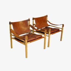 Eschenholz Sirocco Chairs von Arne Norell für Norell AB, 1960er, 2er Set