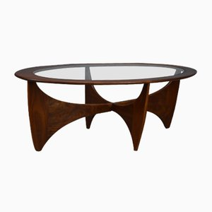 Mid-Century Oval Astro Coffee Table by Victor Wilkins for G Plan, 1960s