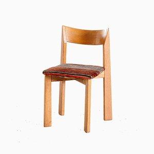 Vintage Oak Maria Esszimmerstühle von Mauro Pasquinelli für Pallavisini, 1970er, 4er Set