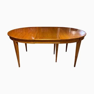 19th Century Biedermeier German Extendable Cherrywood Dining Table