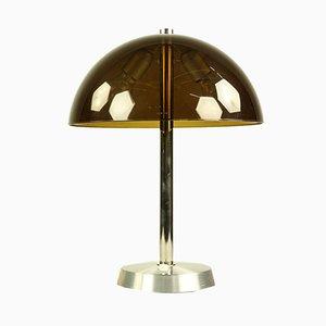 Vintage Modell Nr. 858 Tischlampe aus Acrylglas & Aluminium von SIS