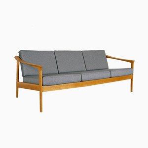 Canapé 3 Places en Chêne par Folke Ohlsson pour Bodafors, Suède, 1963