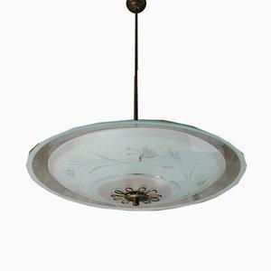 Dekorative Vintage Deckenlampe von Pietro Chiesa
