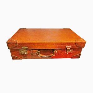 Spanish Leather Suitcase, 1940s