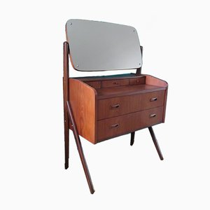 Vintage Danish Teak Dressing Table, 1960s