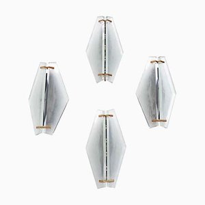Große Wandlampe von Max Ingrand für Fontana Arte, 1960er