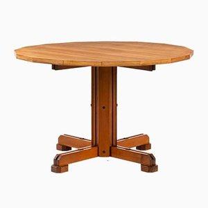 Table d'Appoint en Noyer par Ico Parisi, 1950s