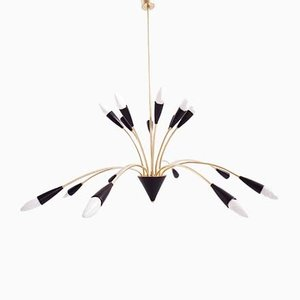 Chandelier from BAG Turgi, 1950s