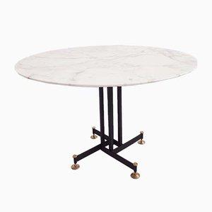 Table Basse en Marbre, Italie, 1950s