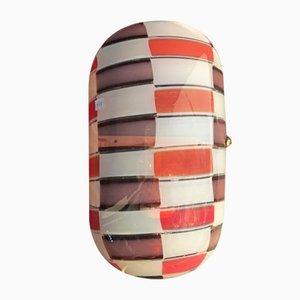 Murano Wandlampe von Vistosi, 1969