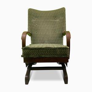 Rocking-chair Art Déco, années 30