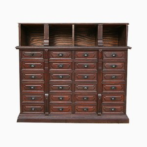Antique French Apothecary Cabinet, 1890s