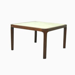 Minimalist Italian Mahogany Coffee Table, 1960s