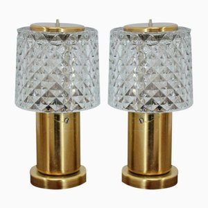 Mid-Century Table Lamps from Kamenický Šenov, 1960s, Set of 2