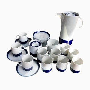 Mid-Century German Porcelain Coffee Set from Rosenthal