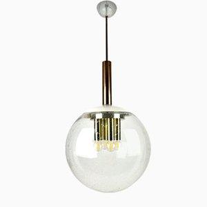 Mid-Century Bubble Glass Balloon Ceiling Lamp