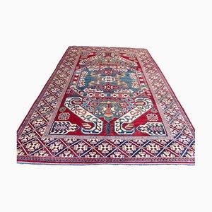 Kaukasischer Vintage Kazak Teppich, 1980er