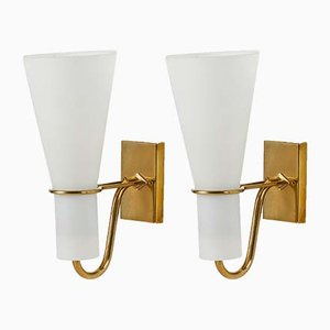 Swedish Wall Lights from ASEA, 1950s, Set of 2