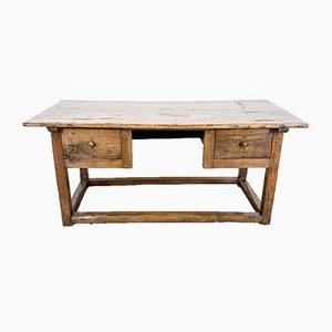 Antiker französischer Kastanien Schreibtisch