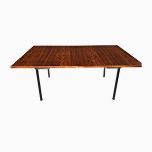 Tavolo da pranzo in teak di Hans J. Wegner per Andreas Tuck, anni '60