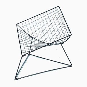 Vintage Wired Model Oti Lounge Chair by Niels Gammelgaard for Ikea, 1980s