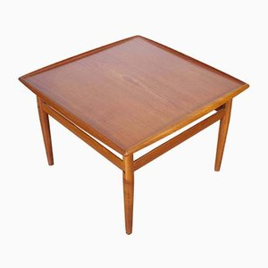 Teak Coffee Table by Grete Jalk for France & Søn / France & Daverkosen, 1960s