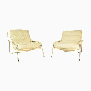September Armchairs by Marco Zanuso for Zanotta, 1980s, Set of 2