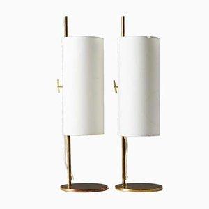 Dänische Tischlampen, 1950er, 2er Set