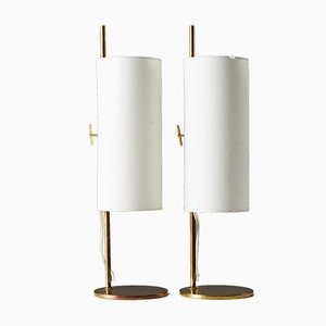 Danish Table Lamps, 1950s, Set of 2