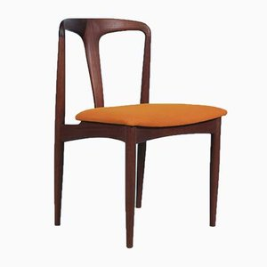 Danish Teak Dining Chairs by Johannes Andersen for Uldum Møbelfabrik, 1960s, Set of 4