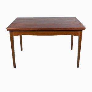 Large Danish Extendable Teak Dining Table, 1960s