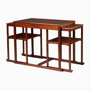 Tables Gigognes par Carl Malmsten pour Åfors Möbelfabrik, Suède, 1950s