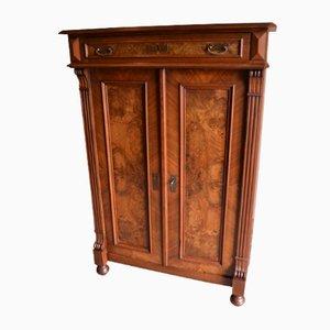 Antique Walnut Girls Cabinet