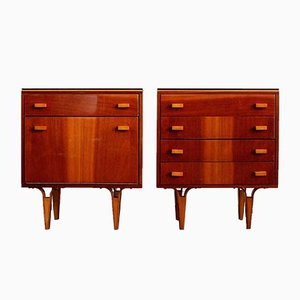 Nightstands from Novy Domov, 1981, Set of 2