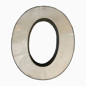 Vintage O Letter Sign