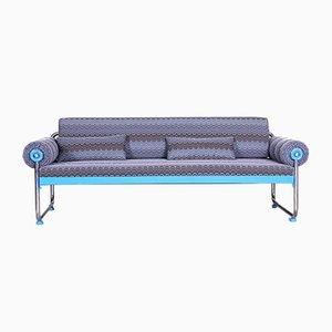 German Bauhaus Tubular Chrome Sofa, 1920s