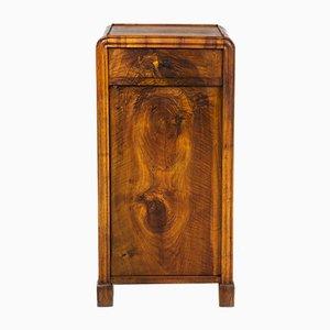 Antique Czech Biedermeier Walnut Side Table