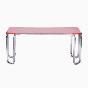 Czech Bauhaus Chrome Side Table by Kovona, 1950s