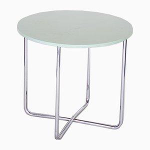 Czech Bauhaus Chrome Side Table, 1930s