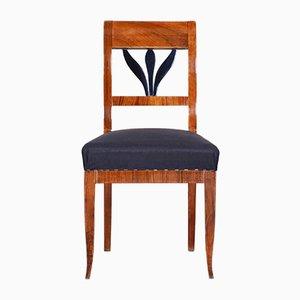 Small Czech Biedermeier Cherry Chair, 1830s