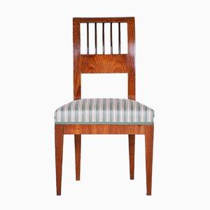 Antique Austrian Biedermeier Cherry Chair, 1820s