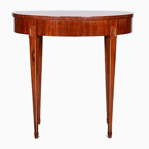 Small French Biedermeier Mahogany Side Table, 1820s